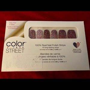 """RETIRED """"Party In The USA"""" Color Street Nail Strip"""